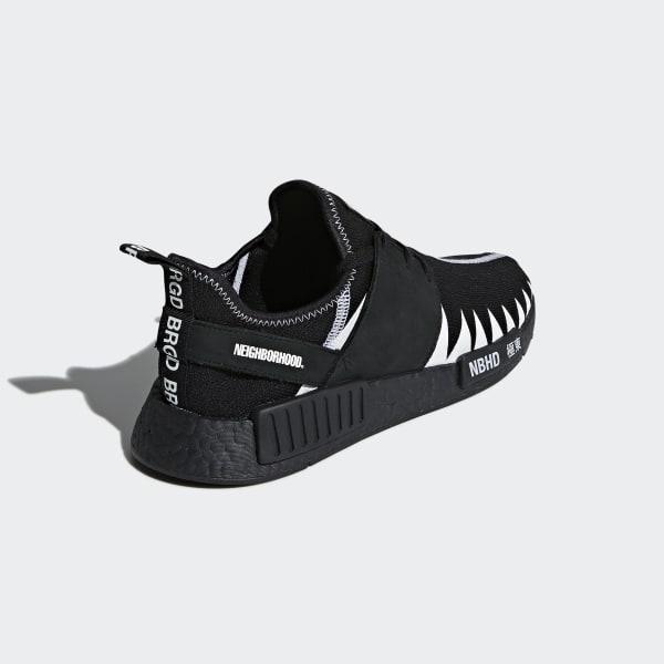 00c1eaea4d620 adidas NEIGHBORHOOD NMD R1 PK Shoes - Black