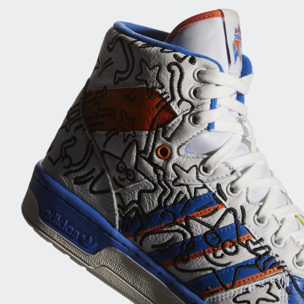f0336872 adidas Rivalry Hi Keith Haring Shoes - White   adidas US