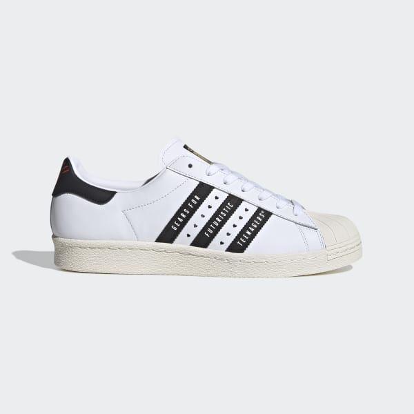 adidas Superstar 80s Human Made Shoes - Black | adidas US
