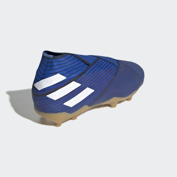 1348e0fd028 adidas Botas de Futebol Nemeziz 19+ – Piso firme - Azul | adidas MLT