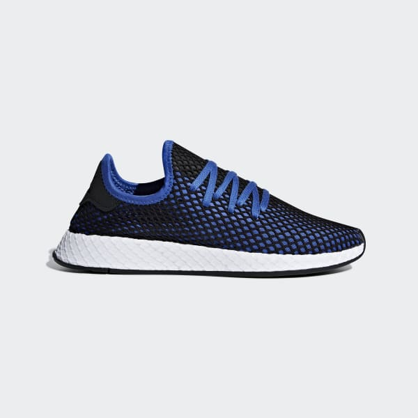 adidas deerupt runner shoes blue adidas us