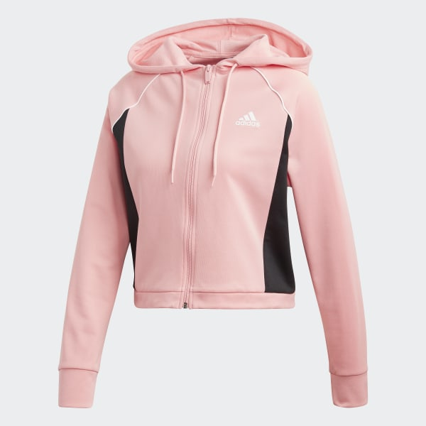 adidas Hoodie and Tights Treningsdress Rosa | adidas Norway