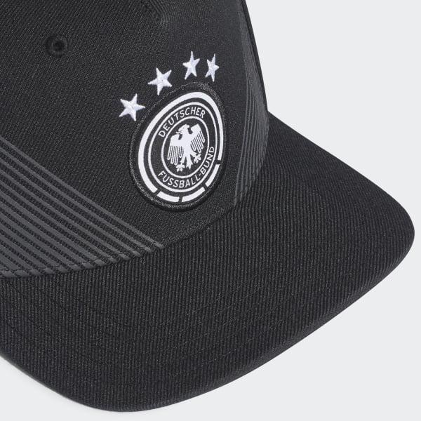 Boné Aba Reta Alemanha 2018 - Preto adidas  aa4184ec2eb
