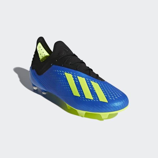 adidas Calzado de Fútbol X 18.1+ Terreno Firme - Azul  0095e1fe1074c