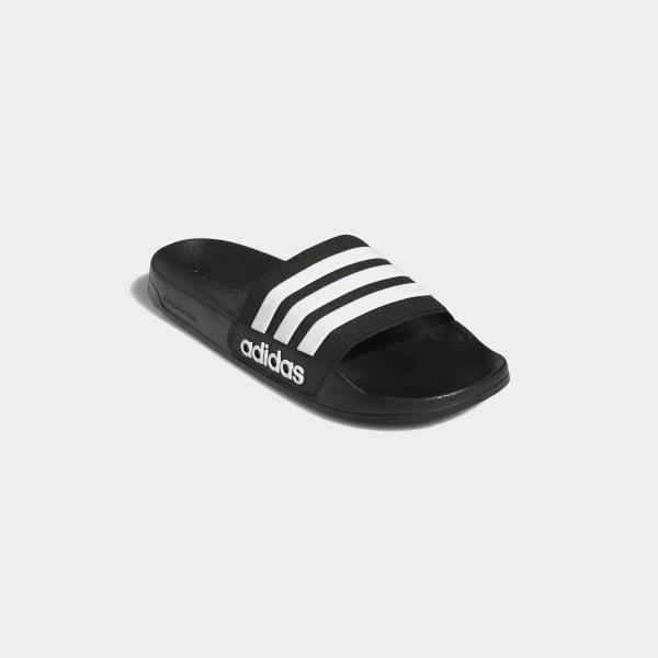 91ea907e22ee adidas Adilette Cloudfoam Slippers - zwart