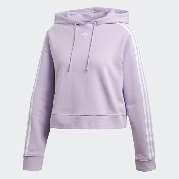 adidas hoodie lila