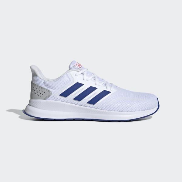 adidas Runfalcon Herren Sport Running Fitness Schuhe F36202 Laufschuhe Rot NEU