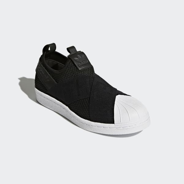 cheaper c2bc5 f0a3a adidas Tenis Superstar Slip-On - Negro   adidas Mexico