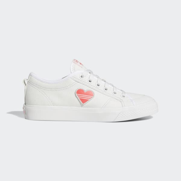 adidas Nizza Trefoil Shoes Vit | adidas Sweden