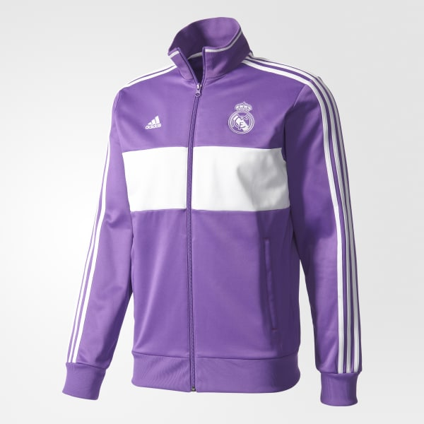 3522f351b adidas Real Madrid 3-Stripes Track Jacket - Purple | adidas US