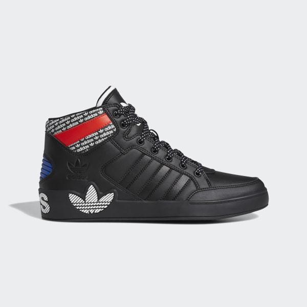 adidas Hardcourt Hi Shoes - Black