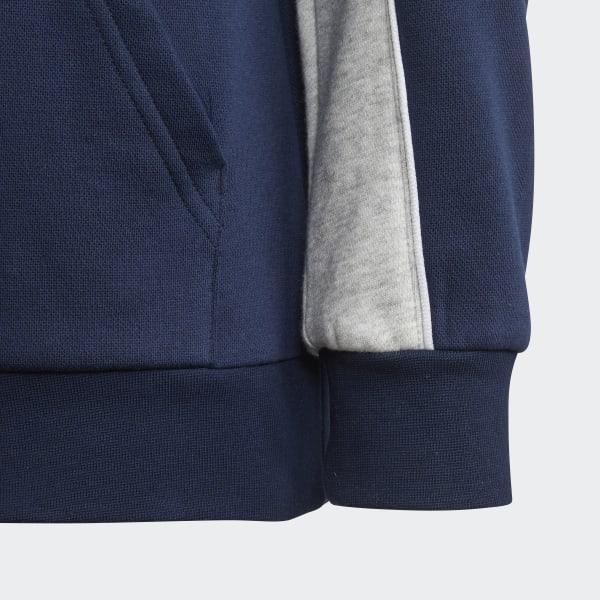cd2792f67 adidas Authentics 1/2 Zip Hoodie - Blue   adidas US