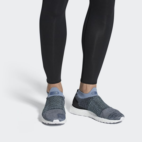Adidas Ultraboost Laceless Parley grau UK 17 53 1//3 CM8271 Sneaker Turnschuh