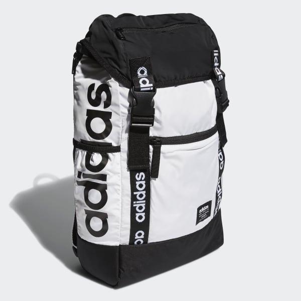 pase a ver medio Nominación  adidas Midvale Plus Backpack - White | adidas US