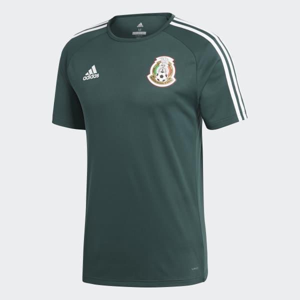 191eb7fb886ca adidas Playera Mexico Home 2018 - Verde