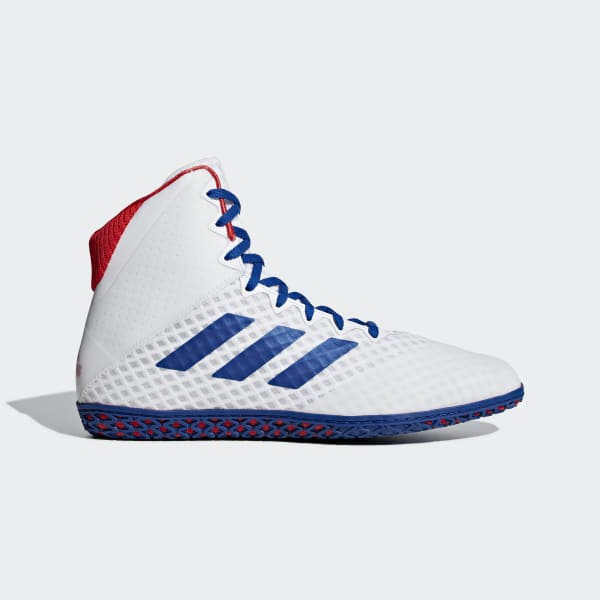 adidas Mat Wizard 4 Shoes - White