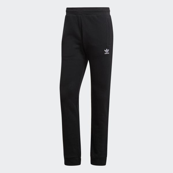 adidas Originals Men/'s Slim adicolour Cuffed Sweat Pants Trefoil Logo Black