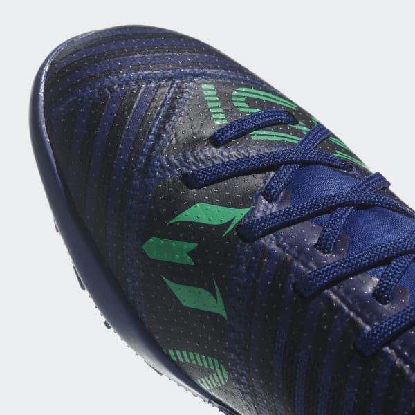 adidas Calzado Nemeziz Tango 17.3 Césped Artificial - Azul  33983e5809b63