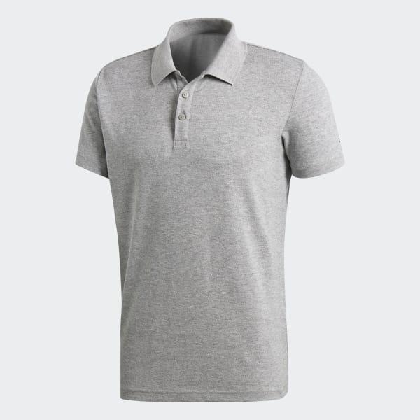 Polera Polo Essentials Basic - Gris adidas  ab184f1167d09