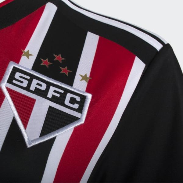 CAMISA SAO PAULO II FEMININA - Vermelho adidas  e31ed1450083b