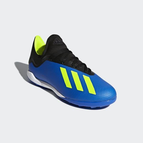 9bbcffded7373 Zapatos de Fútbol X Tango 18.3 Césped Artificial - Azul adidas ...