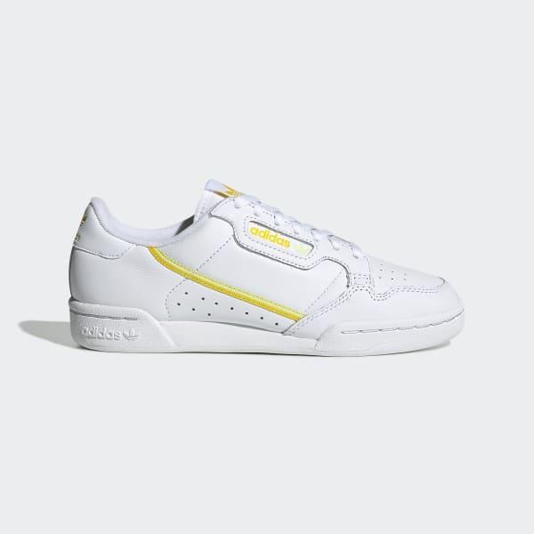 adidas Originals Sko Continental 80 Semi Frozen Yellow