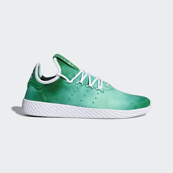 adidas Pharrell Williams Tennis Hu Shoes - Green  9a7d542c409f