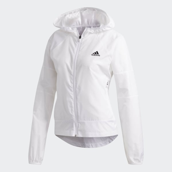 2c0576b51dd Jaqueta Corta vento Sport 2 Street - Branco adidas