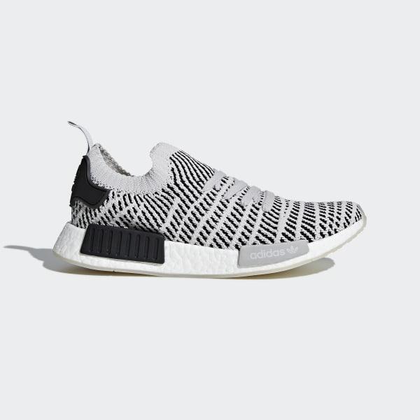 Adidas Nmd_R1 Stlt Primeknit Schuhe Weiss   Adidas Damen Sneakers & Halbschuhe