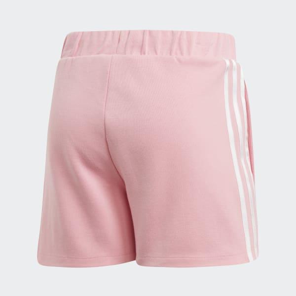 pink adidas shorts