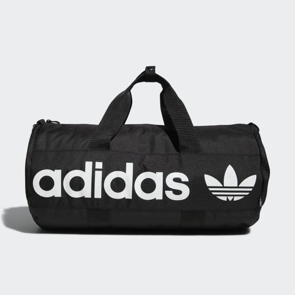 adidas Paneled Roll Duffel Bag - Black  bc0e2997103df