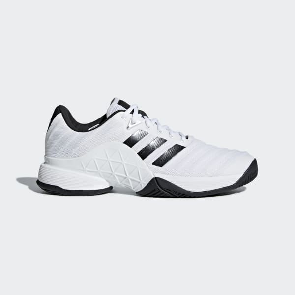 fb2355f181ea adidas Barricade 2018 Shoes - White