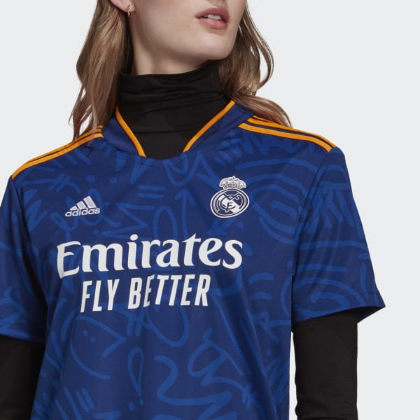 Real Madrid 21/22 Away Jersey