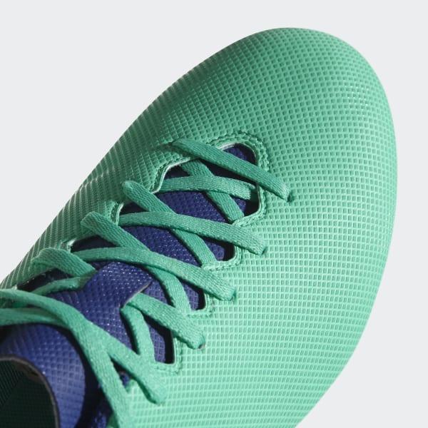 Chimpunes X 17.4 Terreno Flexible - Verde adidas  5899eb1a86973