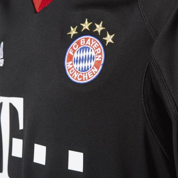2ddd0934c adidas FC Bayern Munich Replica Goalkeeper Jersey - Black | adidas UK