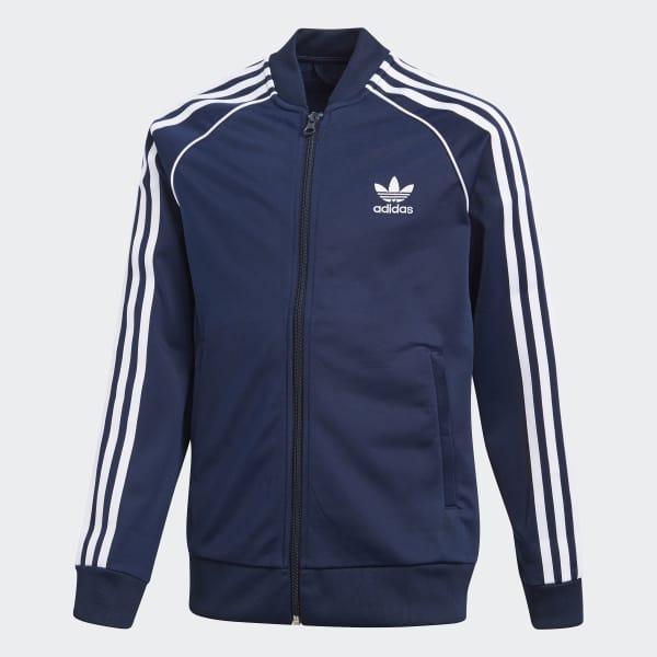 cheaper 6a531 a4700 adidas SST Originals Jacke - blau   adidas Austria