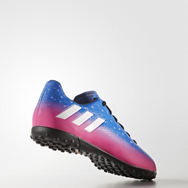 Chuteira Messi 16.4 - Society - Azul adidas  3367e8679ac3e