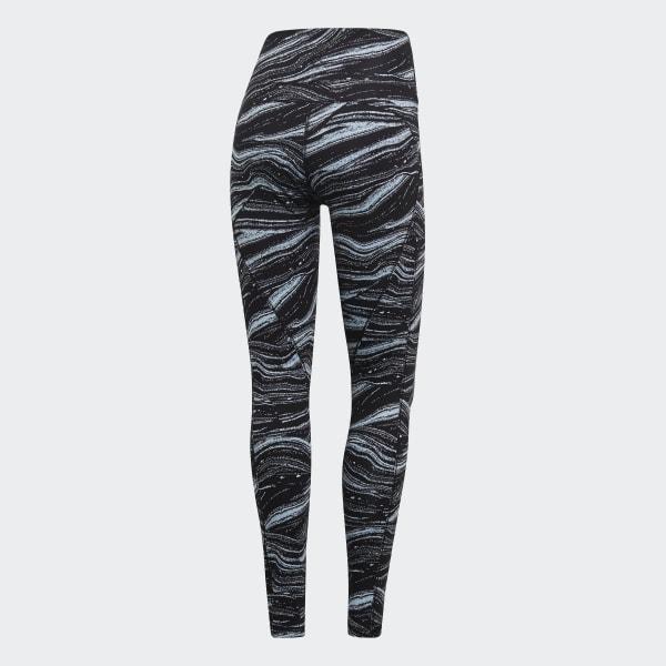 c1069dd8d17 adidas Леггинсы Believe This Wanderlust - синий | adidas Россия