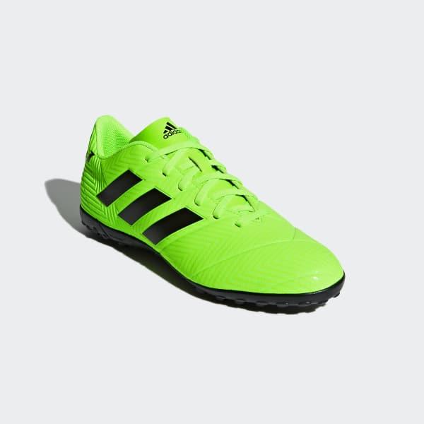 adidas Calzado de Fútbol Nemeziz Messi Tango 18.4 Pasto Sintético - Verde  e1846bedde95f
