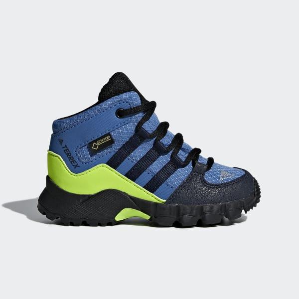 Chaussures Outdoor Garçons Adidas Terrex Mid GTX Bleu