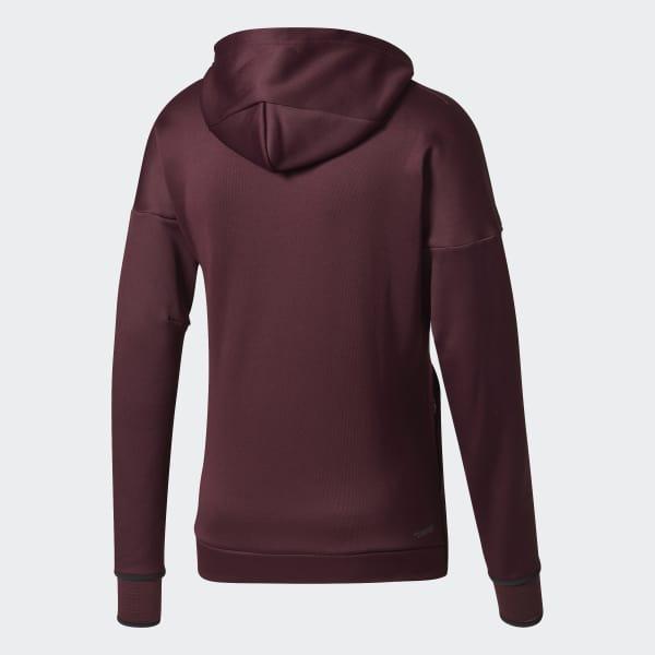 a83775eb17b1 adidas Z.N.E. Climaheat Hoodie - Red