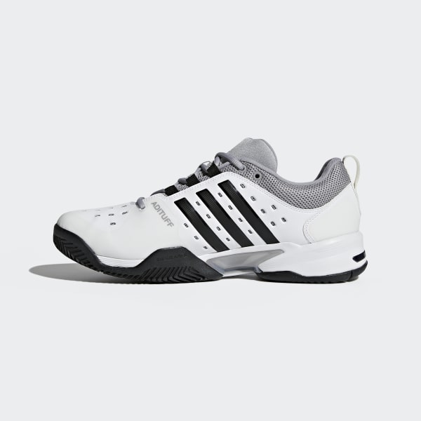 842d2447a adidas Barricade Classic Wide 4E Shoes - White
