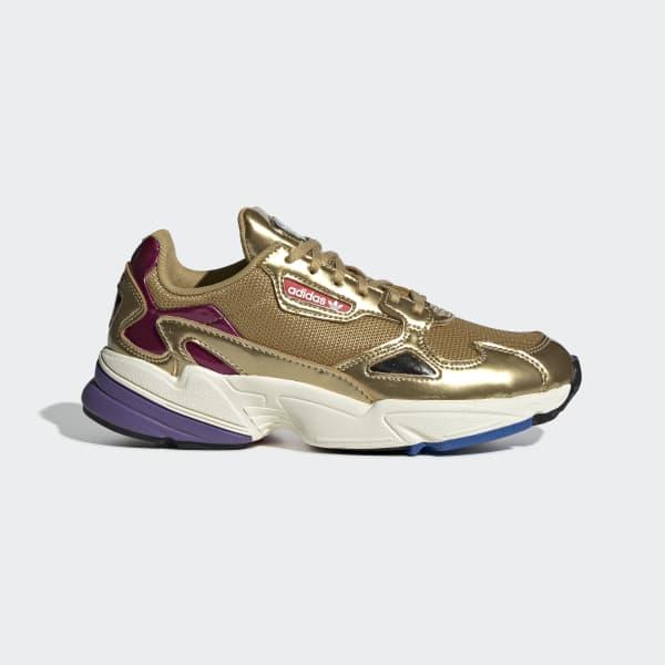 104de461a1cd adidas Falcon Shoes - Gold