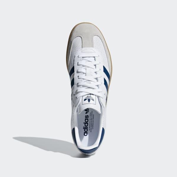 silver adidas samba