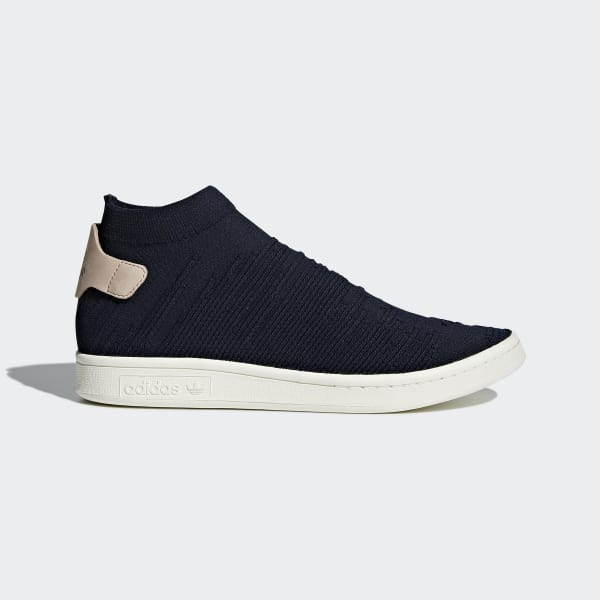 adidas Stan Smith Sock Primeknit Shoes - Blue  59dcd8145