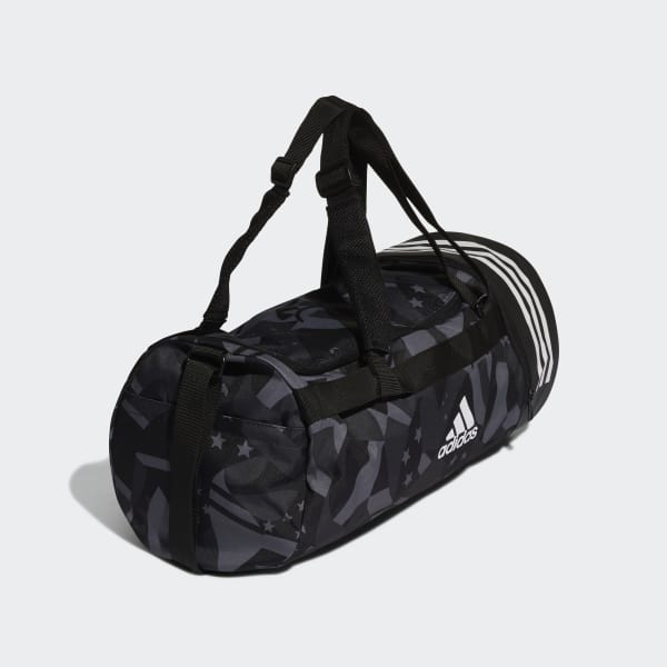 3-Stripes Convertible Graphic Duffel Bag