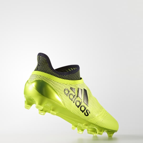 Chuteira X 17 Speed Campo - Amarelo adidas  18a175a16e869