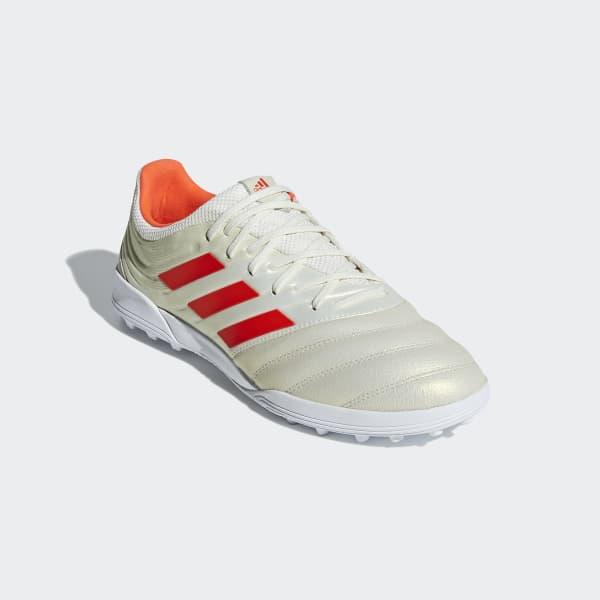 adidas Calzado de Fútbol COPA 19.3 TF - Blanco  43b2cc2023940