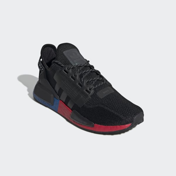 nmd black and red