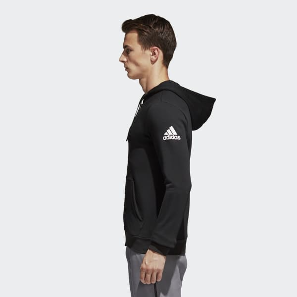 col china lector Comercial  adidas Essentials Base Fleece Hoodie - Black   adidas Turkey